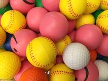 Children rubber balls Stock Images