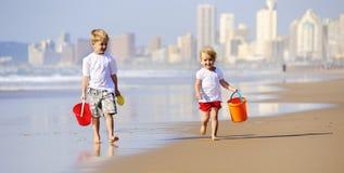 Children running Stock Image