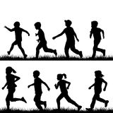 Children running Stock Image