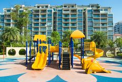 Children's amusement park Stock Images