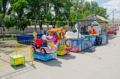 Children's attraction in Feodosia Royalty Free Stock Images