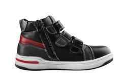 Children`s autumn shoes Royalty Free Stock Photo