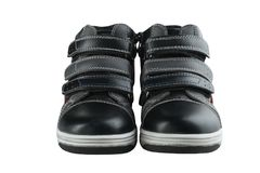 Children`s autumn shoes Royalty Free Stock Images