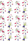 Children's background Stock Image