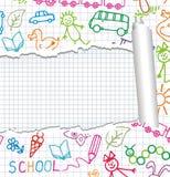 Children's background. Vector. Stock Photo