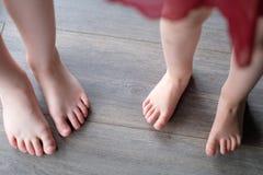 Children`s bare feet Royalty Free Stock Image