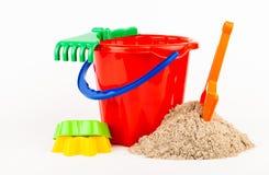 Children's beach sand toys Stock Photo