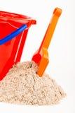 Children's beach sand toys Stock Photos