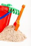 Children's beach sand toys Royalty Free Stock Image