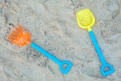 Children`s beach toys Stock Photography