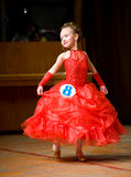 Children's beauty contest Royalty Free Stock Photos