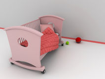 Children's bed Royalty Free Stock Photography