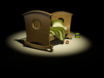 Children's bed Royalty Free Stock Photo