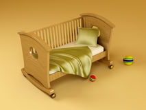 Children's bed Stock Photography