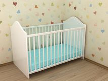 Children's bed stock photos