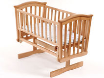 Children's bed Royalty Free Stock Photos