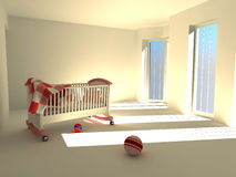 Children's bedroom Royalty Free Stock Photo