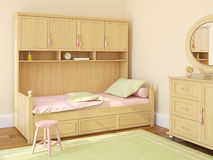 Children's bedroom Stock Photography
