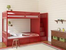 Children's bedroom Royalty Free Stock Image