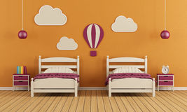 Children's bedroom Stock Image
