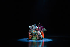 "Children's Beijing Opera""Yue teenager"" Stock Image"