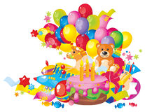 Children's birthday Stock Image