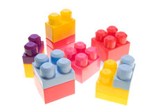Children's blocks Royalty Free Stock Photos