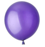 Children's blue balloon isolated Royalty Free Stock Photography