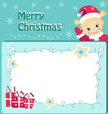 Children's board for messages. Stock Image