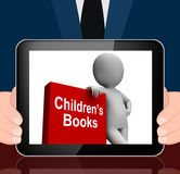 Children's Book And Character  Displays Reading For Kids Stock Photography