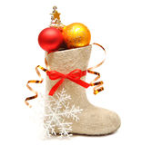 Children's boot full gifts Stock Photography