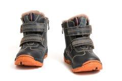 Children's boots Stock Photos