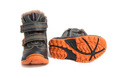 Children's boots Royalty Free Stock Photo