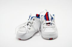 Children's boots Royalty Free Stock Photography