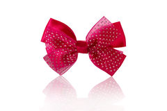 Children's bow a hairpin for hair Stock Photography