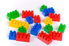 Children's Building Blocks Royalty Free Stock Photography