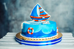 Children`s cake Royalty Free Stock Photography