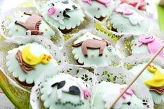 Children's Cakes Stock Photo