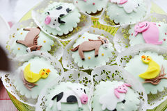 Children's Cakes Royalty Free Stock Photography