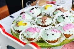 Children's Cakes Stock Photos