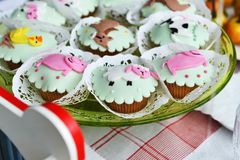 Children's Cakes Royalty Free Stock Images