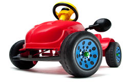 Children S Car Isolated Stock Image