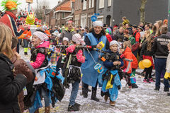 Children Carnival in the Netherlands Stock Photography