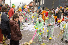Children  Carnival in the Netherlands Stock Images
