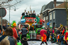 Children Carnival in the Netherlands Royalty Free Stock Image