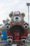 Carnival ride detail stock photos
