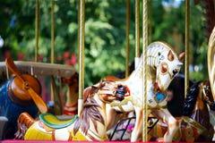 Children's Carousel Royalty Free Stock Photos