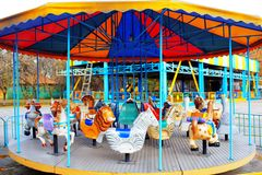 Children's Carousel Stock Photos