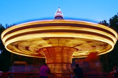 Children's carousel Stock Images
