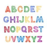 Children's cartoon ABC Stock Photo